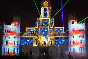 Christmas Multimedia Show Madrid