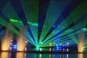 Jia Xing Show: eine perfekte Lasershow in China 2010