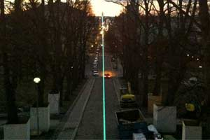Laser Installation with one RTI NANO in Helsinki