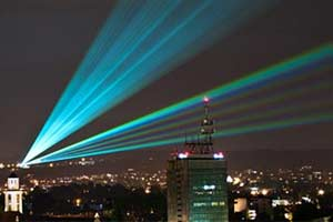 Outdoor Laser Lake Constance