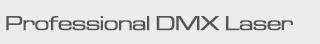 button professional dmx laser