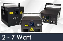 rental rgb 2 7 watt