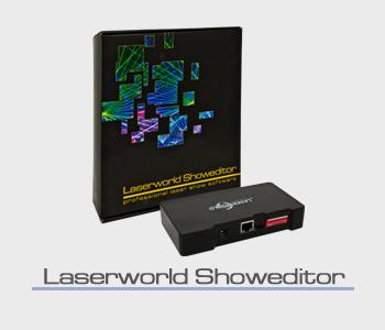 vermiet laserworld showeditor