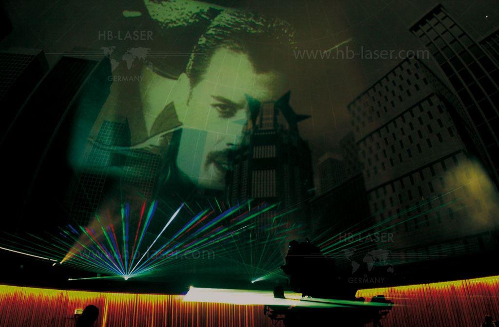 Planetarium Nuremberg Laser Show