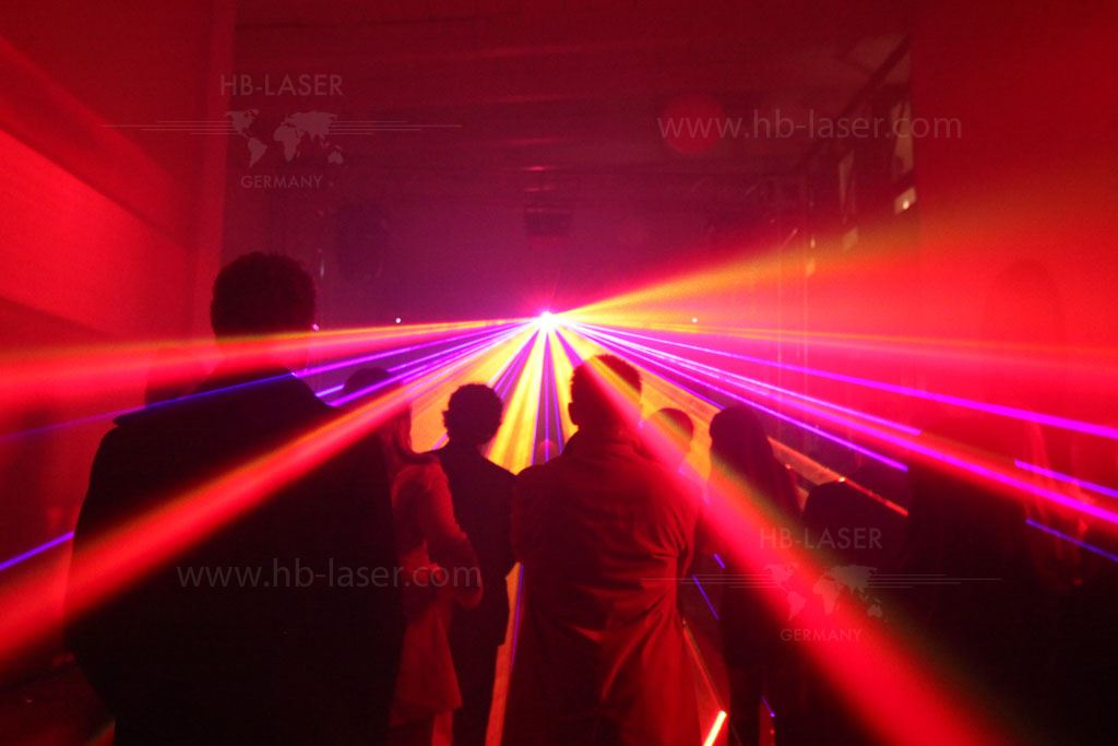 Audi A Car Presentation With Laser Show - Car laser light show
