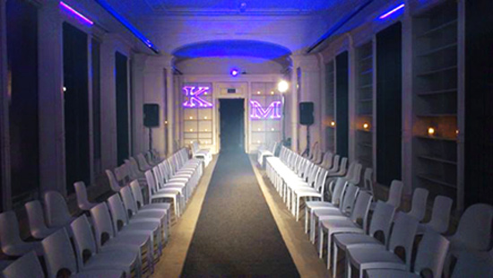 Laserworld at Amsterdam Fashion Show by Anthon Fielmich web3