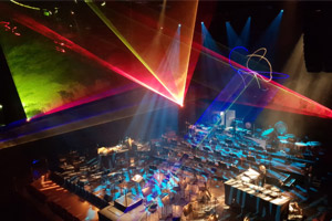 Laser Show @ Jeff Mills, Lost in Space 2018 laser show