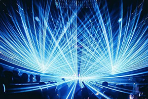 RTI NEO SIX Laser Installation in Club TAXX Shanghai