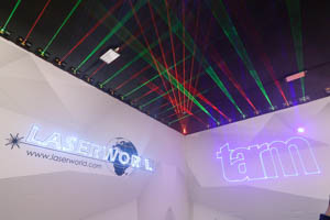 Laserworld @ Integrated Systems Europe 2020