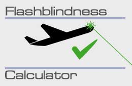 Flashblindness Calculator