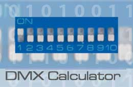 dmx calculator