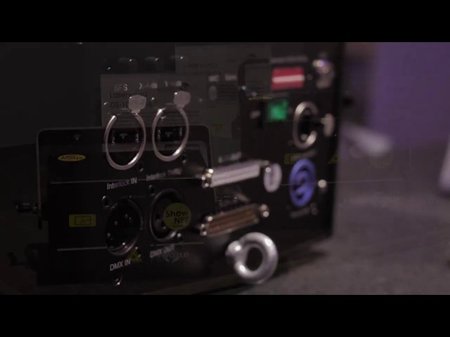 Laserworlds ShowNet-Port sprengt bisherige Möglichkeiten von Lasershows @ ProLight+Sound 2019