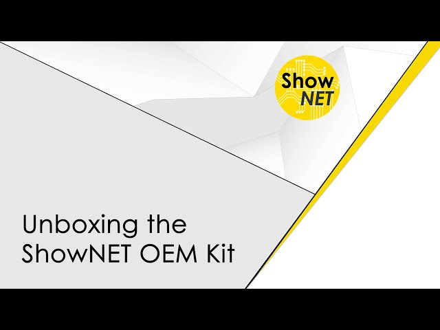Unboxing the ShowNET OEM kit - laser mainboard for integrators and laser companies