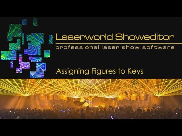 06. Assigning Figures To Keys - Laserworld Showeditor Laser Show Software Tutorial Video