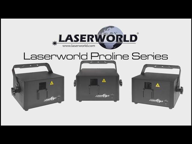 Laserworld Proline Series show laser light   Laserworld