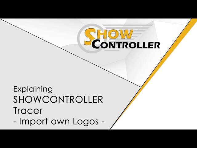 Showcontroller Tracer - import your own logo - explained | Laserworld