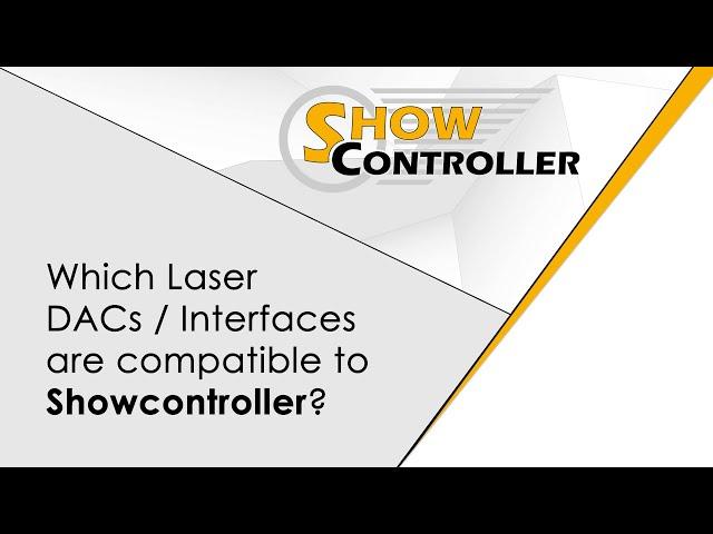 Showcontroller compatible Interfaces / DACs - MicroUSB, MicroNET slim, ShowNET