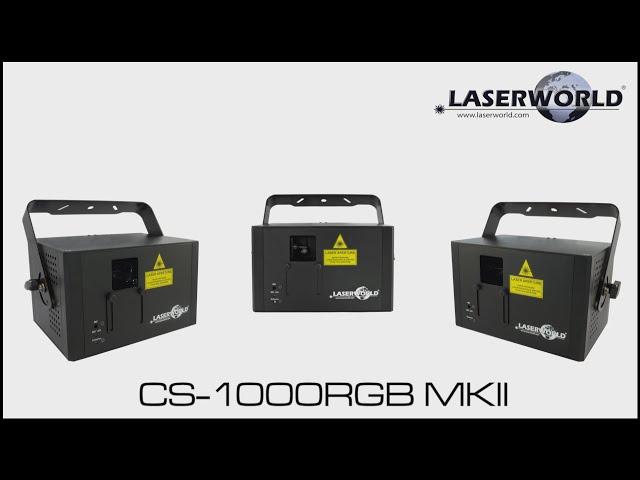 Laserworld CS-1000RGB MKII show laser light   Laserworld