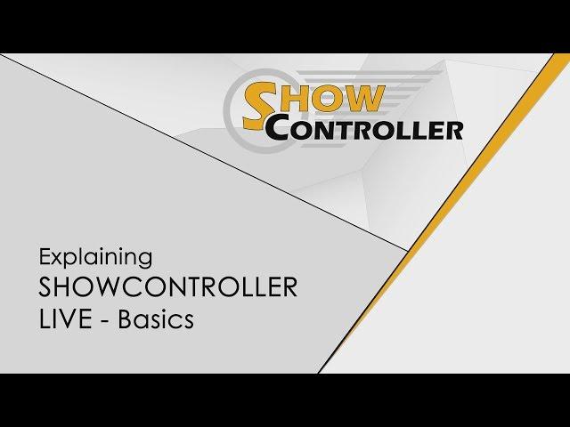 Showcontroller LIVE - Basics - how to use, explained | Laserworld