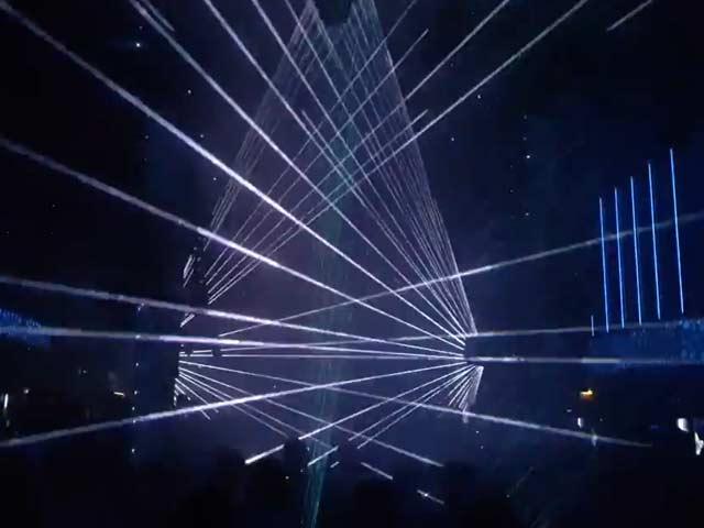 Tarm Laser Test im Praterdome Wien