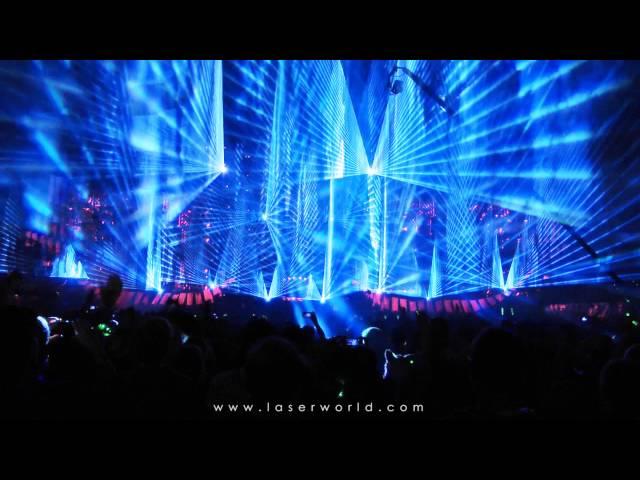 Electric Love Festival 2015 - Lasershow - Salzburgring, Austria | Laserworld