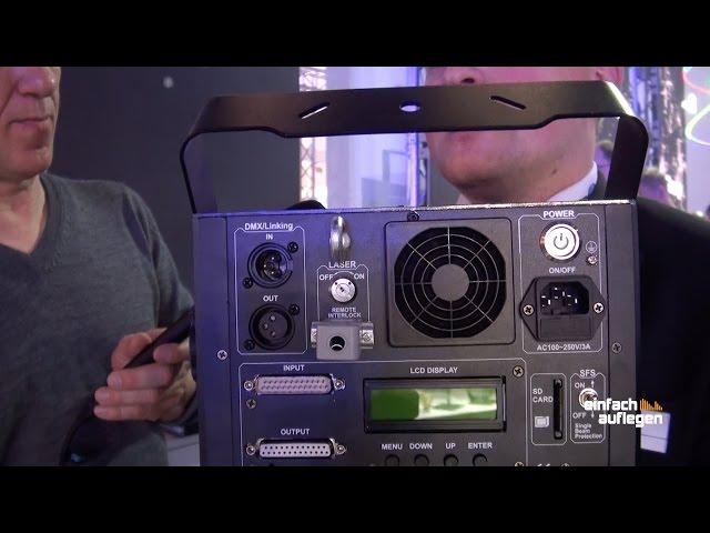 [Prolight+Sound 2016] Laserworld EL-500RGB KeyTEXT und Pro-800RGB / Pro-1600RGB