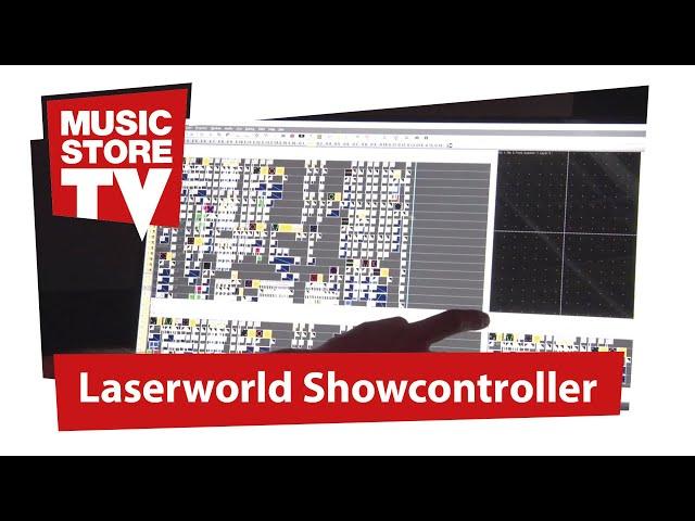 """Laserworlds mächtige """"ShowController"""" Software  Vorstellung @ ProLight+Sound 2019"""