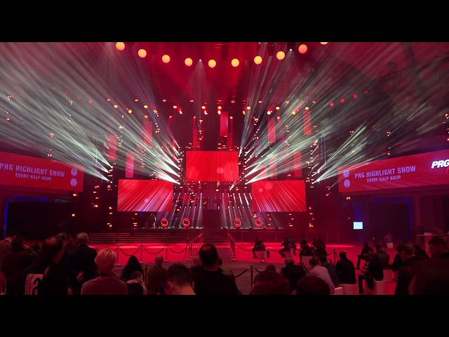 PRG Highlight Show at Prolight+Sound 2018 in the Festhalle, 4K, PRG / LEA Stage | Laserworld