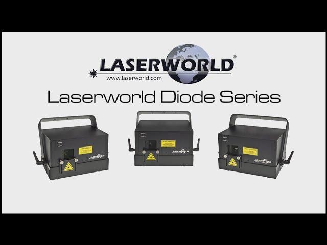 Laserworld Diode Series show laser light   Laserworld