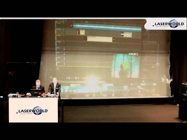Laserworld at Prolight + sound 2013 - Pangolin Training - Beyond | Laserworld
