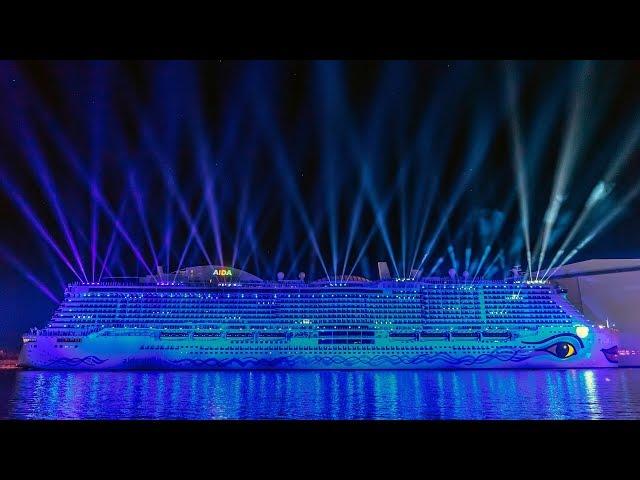 Veranstaltungstechnik: Taufe der AIDAnova in der Meyer Werft in Papenburg