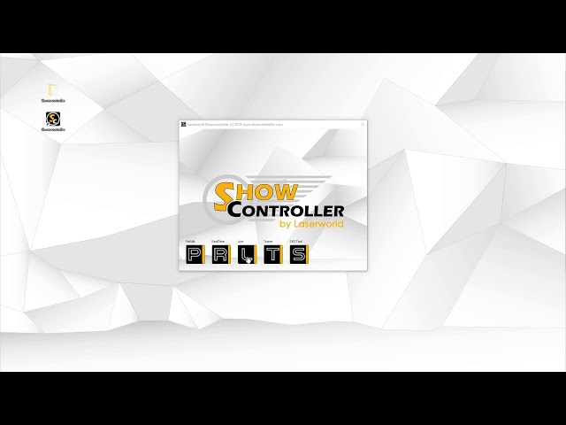 Different Software parts of Showcontroller - explained | Laserworld