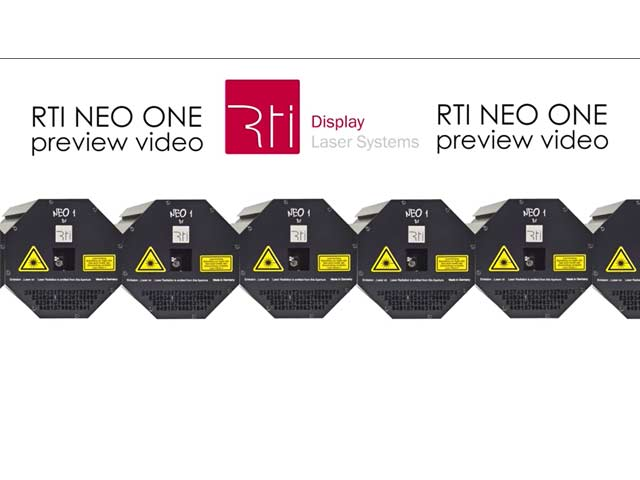 RTI NEO ONE - preview video   Laserworld