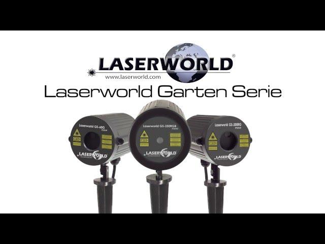 Laserworld Gartenlaser Garden Serie   Laserworld