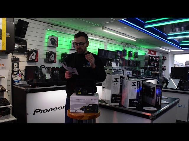 Laserworld EL-300 RGB @Phase One