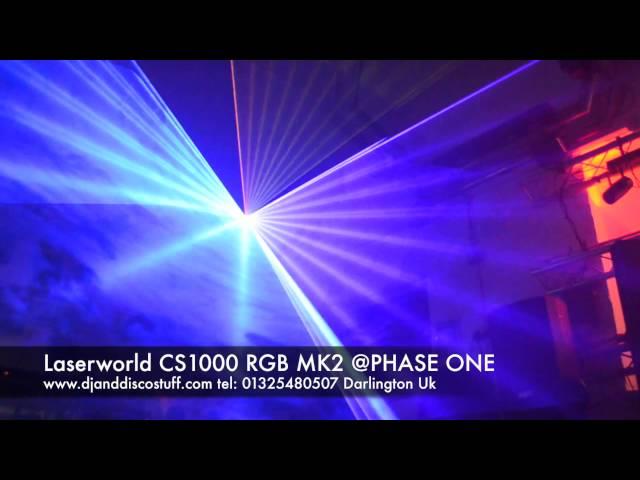 laserworld cs1000 rbg mk2  @ Phase One DJ Store
