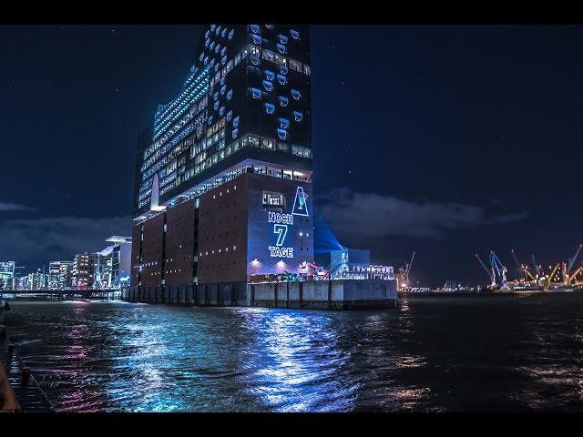 Laserfabrik Elbphilharmonie Inauguration Countdown
