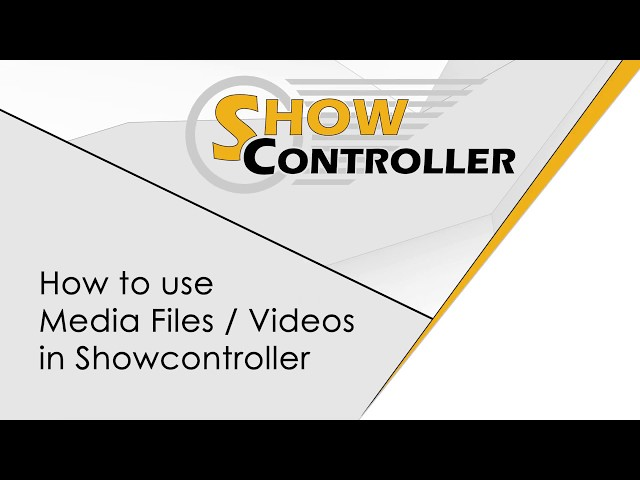 Showcontroller - How to use Media / Video Files in Showcontroller | Laserworld