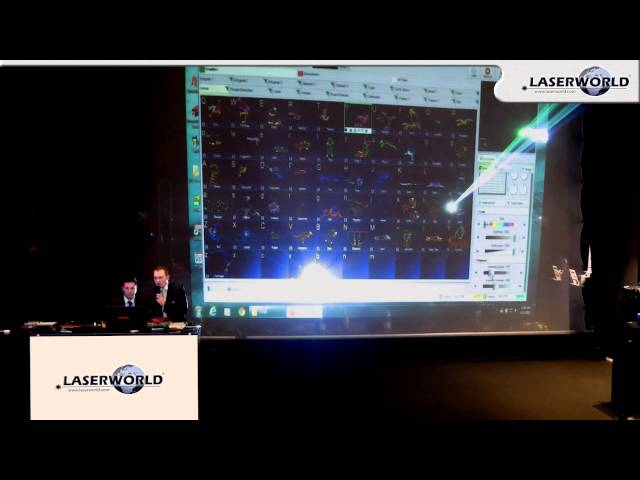 Laserworld at Prolight + sound 2013 - Pangolin Training - QuickShow | Laserworld