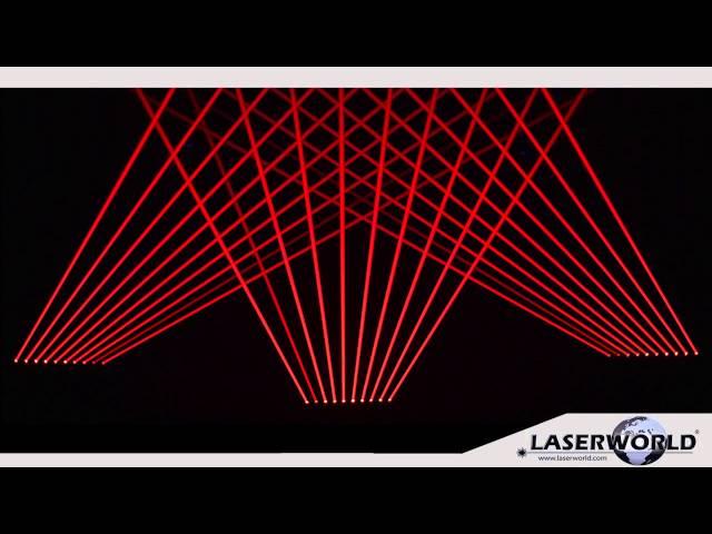 Laserworld BeamBar 10R   single beam laser light effect