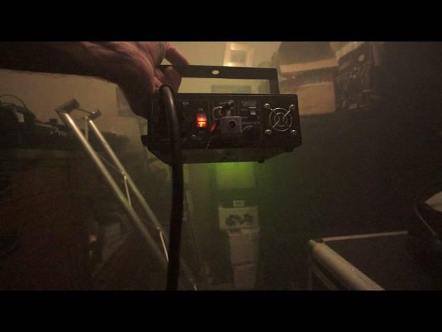 LASERWORLD EL-60G SHORT DEMONSTRATION BY ELLASKINS THE DJ TUTOR