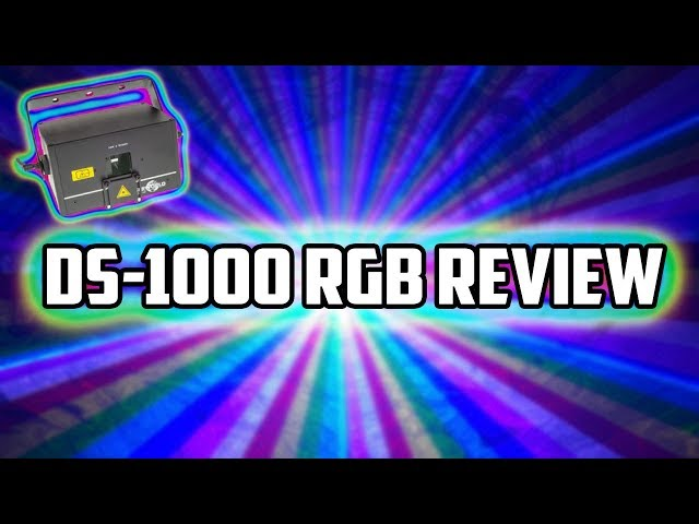 Laserworld DS-1000RGB Review