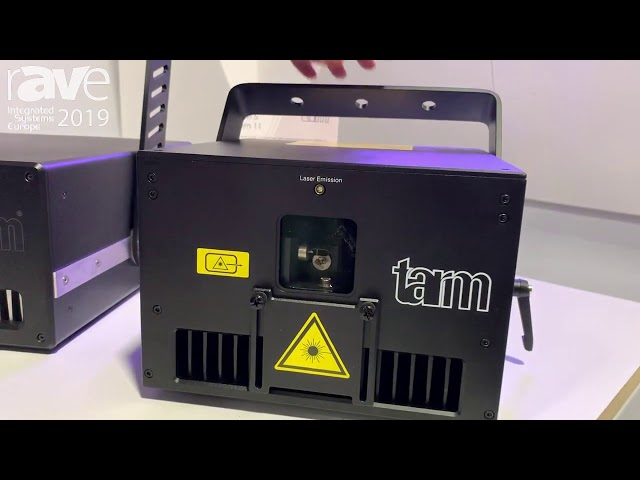 ISE 2019: Tarm Demos Series of Laser Systems on Laserworld Stand