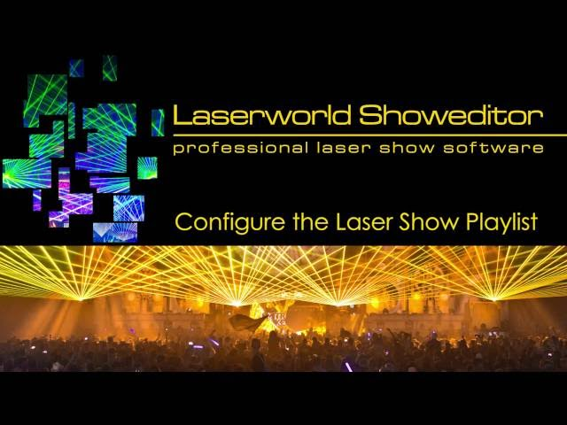 08. Configure the Laser Show Player - Laserworld Showeditor Laser Show Software Tutorial Video