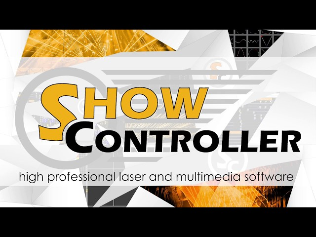 Showcontroller - the professional laser and multimedia software