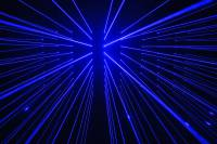 Laserworld BeamBar Blue 0005 Beam