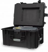 Laserworld PL 5000RGB Case Open Left Detail